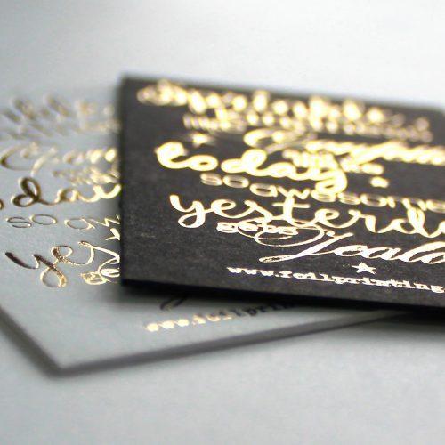 FOIL CARDS