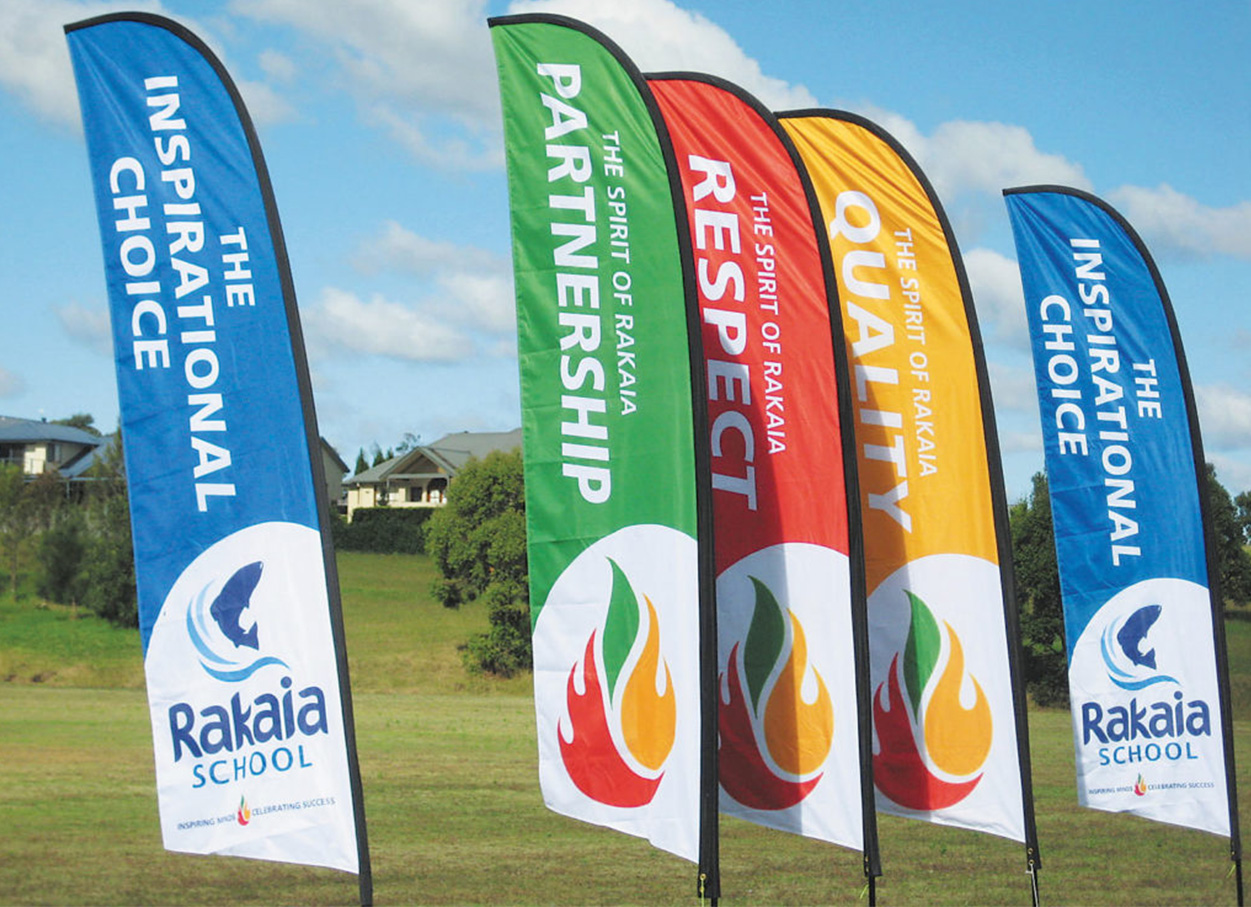 We can create custom printed flags and banners just ask us.