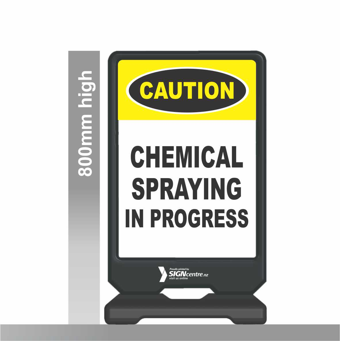 CHEMICAL SPRAY SIGNAGE