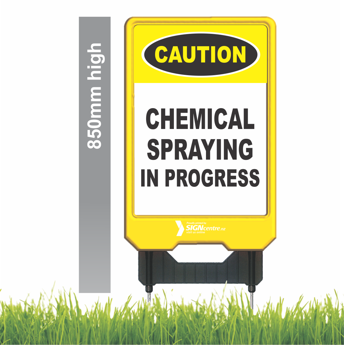 CHEMICAL SPRAY SIGNAGE
