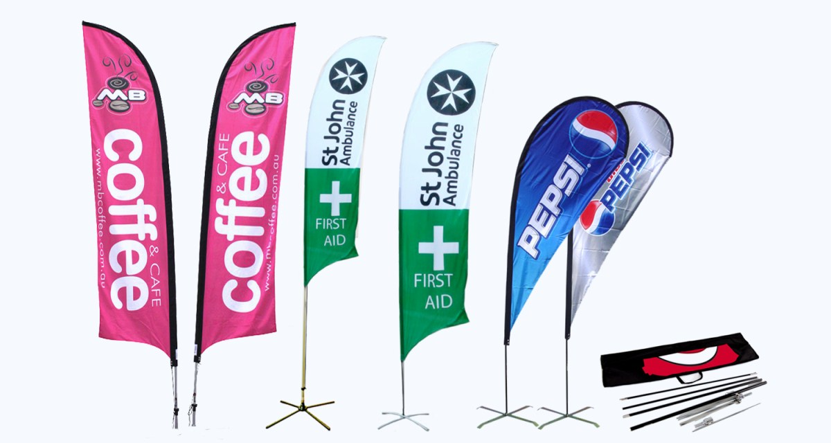 We have a huge range of flags in stock or we can custom your order.