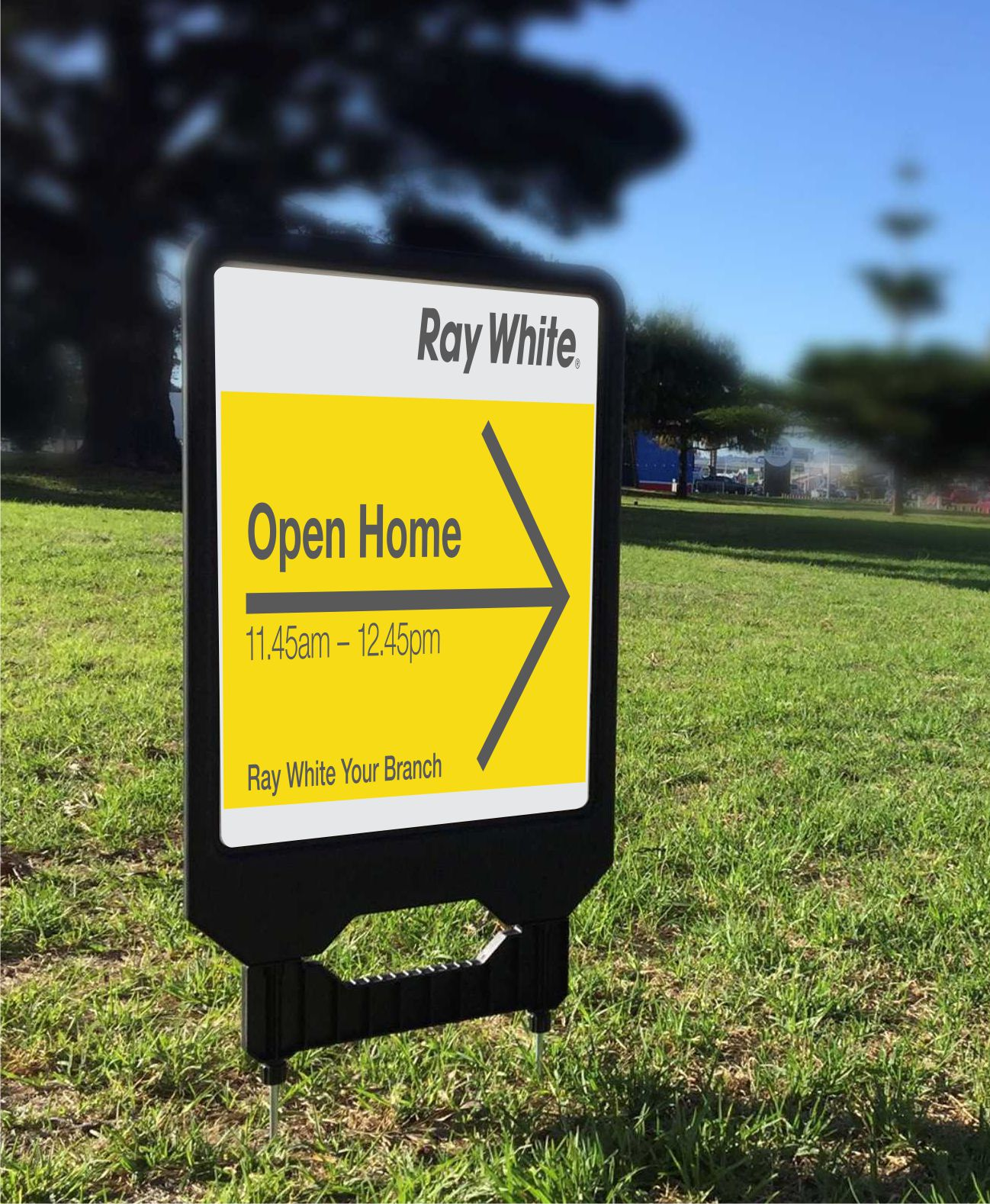 Ray White Real Estate Sign Holders