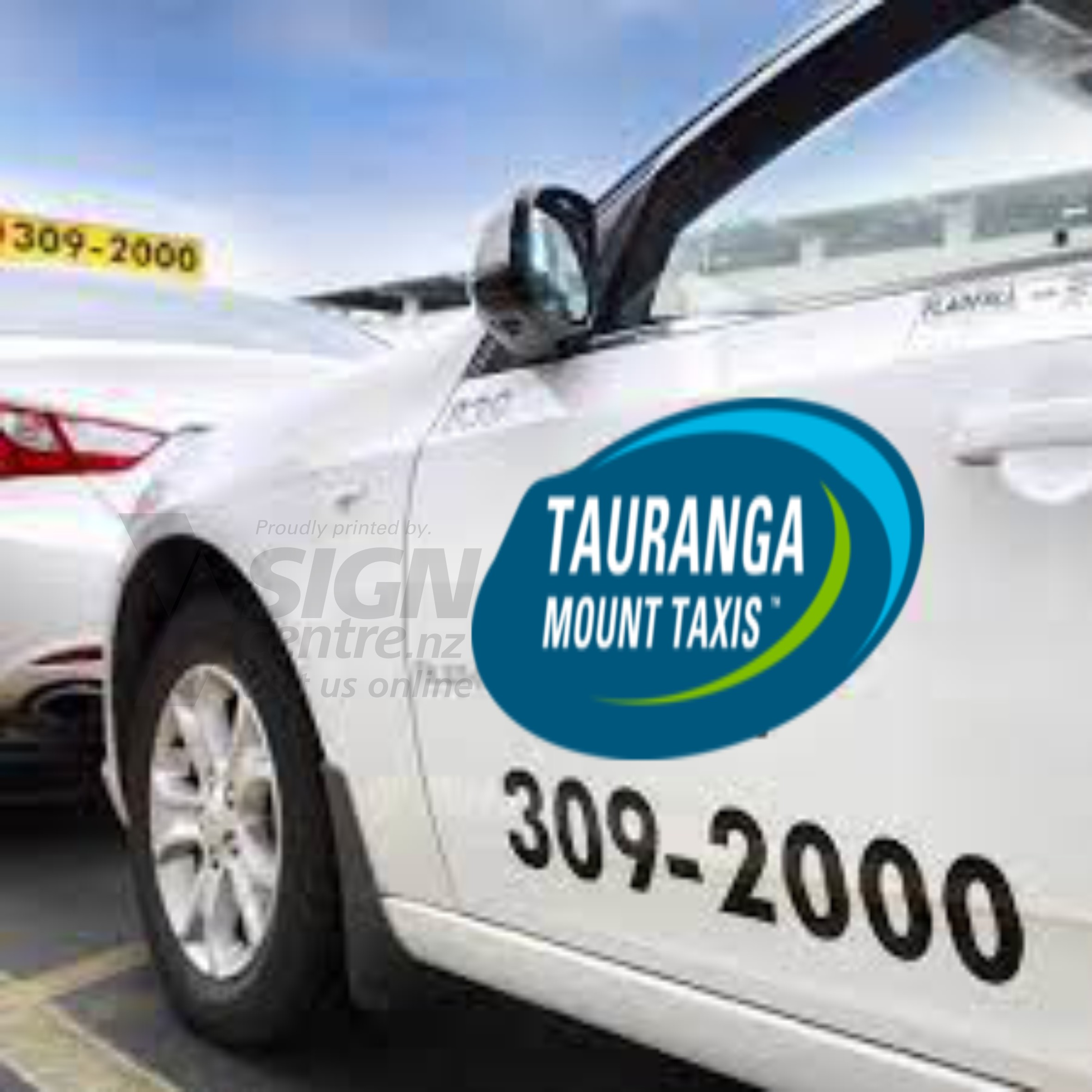 TAXI MAGNETIC SIGNS